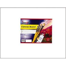 Jasart Canvas Board 12 x 16 White