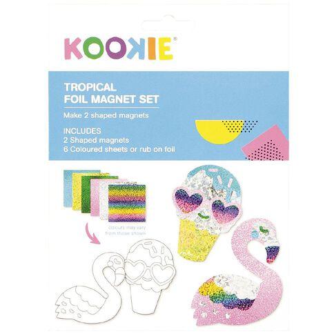 Kookie Foil Magnet Set Tropical 2 Pack