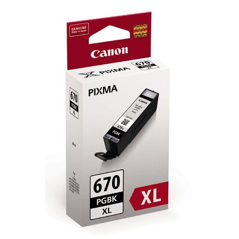 Canon Ink PGI670XL Black (500 Pages)