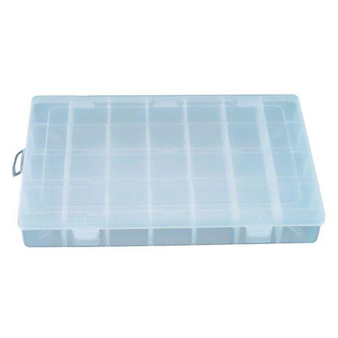 Sterilite Craft Storage Organiser 35 x 22.5 x 4.8cm Clear