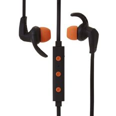 Active Intent Bluetooth Sports Earbud Black & Orange