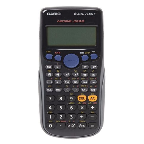 Casio Scientific Calculator FX82AU PLUS II