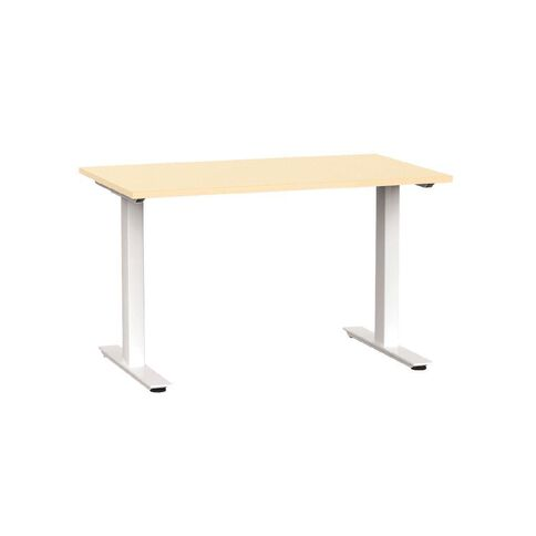 Agile Desk 1200 Nordic Maple/White