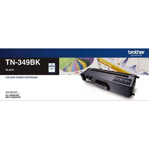Brother Toner TN349 Black (6000 Pages)