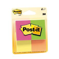 Post-It Notes 34.9mm x 47.6mm Multi-Coloured