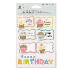 Little Birdie Sticker Birthday Treats 7 Piece