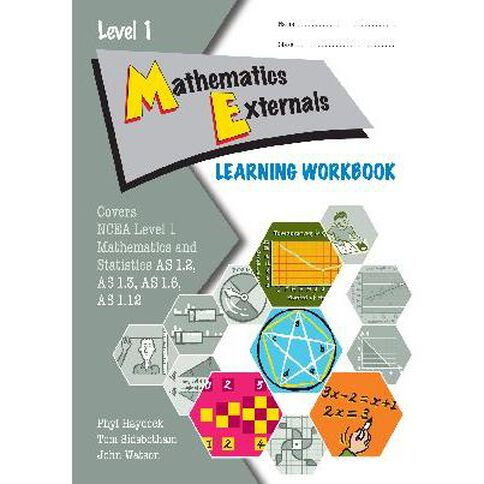 Ncea Year 11 Mathematics Externals Learning Workbook