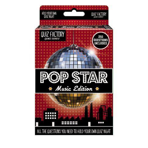 Quiz Factory Pop Star Multi-Coloured