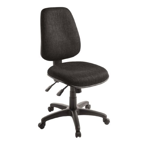 Eden Chorus 3 Lever Highback Ergonomic Chair Ebony