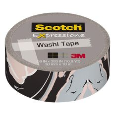 Scotch Washi Craft Tape 15mm x 10m Marble