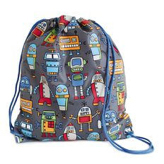 Happy Robots Homework Bag Mixed Assortment