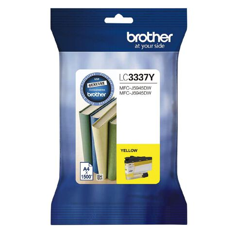 Brother Ink LC3337Y Yellow (1500 Pages)