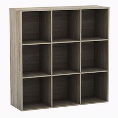 Workspace Soho 9 Cube Cubby Oak