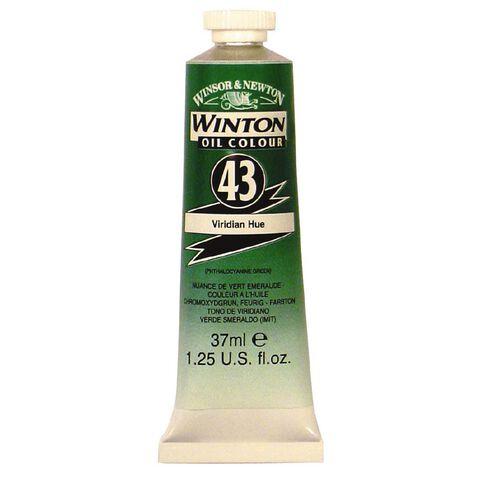 Winsor & Newton Winton Oil Paint 37ml Viridian Green