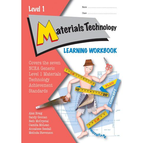 Ncea Year 11 Materials Technology Learning Workbook