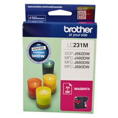 Brother Ink LC231 Magenta (260 Pages)
