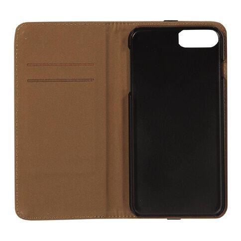 Tech.Inc iPhone 6+/7+/8+ Flip Case Brown