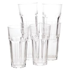 Living & Co Bistro Hiball Glass Tumbler 6 Pack