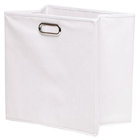 Workspace Storage Box Folding 8 Cube White