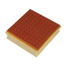TFC Stamp Hundreds Grid 0-99 Brown