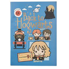 Harry Potter Scrapbook With 10 Colouring Sheets