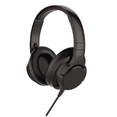 Tech.Inc Noise Cancelling Headphones Black