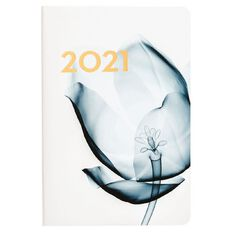 Dats Diary 2021 Week To View Hard Cover Printed Assorted A4