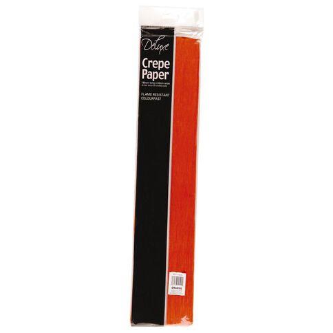 Crepe Paper Orange