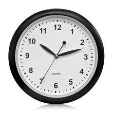 Effects Wall Clock 30cm Black 30cm