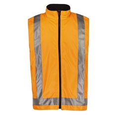 Rivet Fleece Lined Day and Night Compliant Work Vest