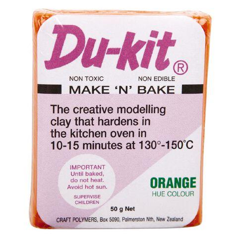 Du-kit Clay Orange 50g