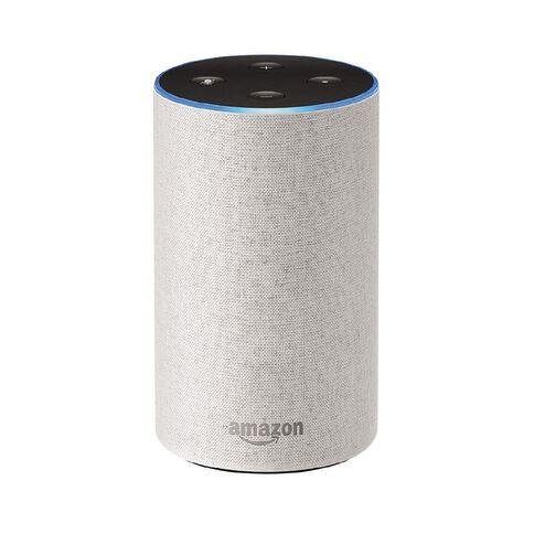 Amazon Echo 2nd Gen Fabric Sandstone