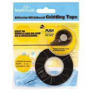 Boyd Visuals Whiteboard Grid Tape 3mm x 15m Black