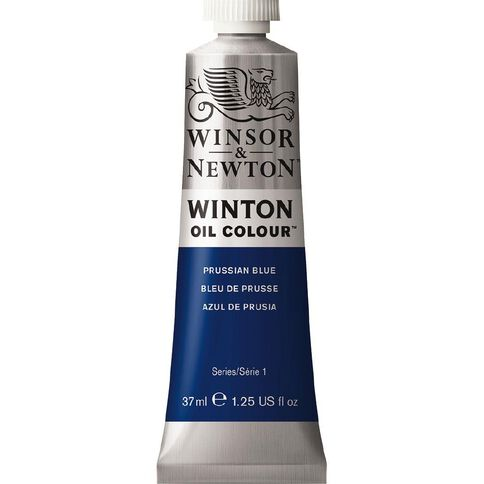 Winsor & Newton Winton Oil Paint 37ml Prussian Blue