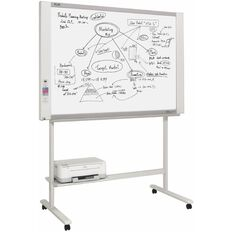 Plus Electronic Copyboard M17S With Stand & Printer White