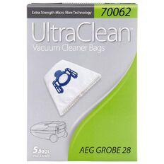 Ultra Clean Vacuum Bags For AEG Grobe 5 Pack