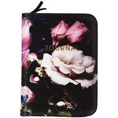 Uniti Dark Glam PU Zip Journal A5
