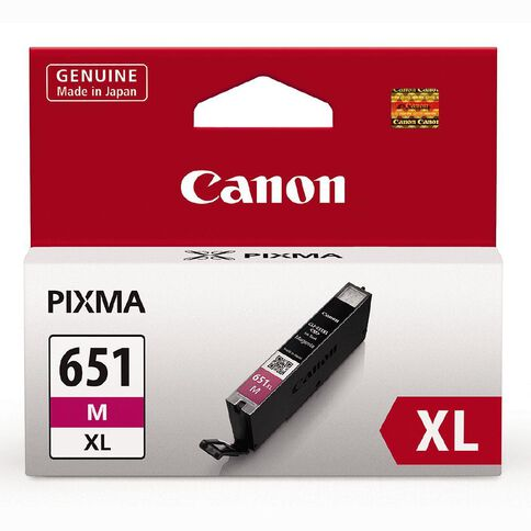 Canon Ink CLI651XL Magenta (750 Pages)