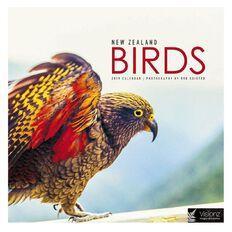 John Sands Calendar 2019 New Zealand Birds Compact 180mm x 180mm