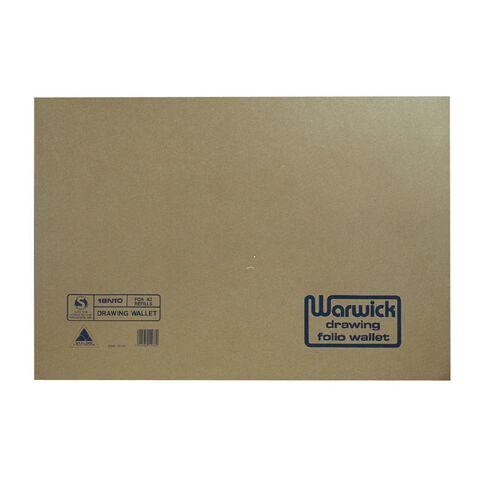 Warwick Tech Drawing Wallet 18N10 Brown A2