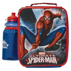 Spider-Man Marvel Lunch Bag & Bottle