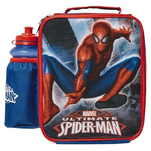 Spider-Man Marvel Lunch Bag & Bottle