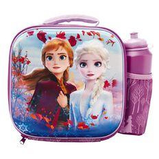 Frozen 2 3D Lunch Bag with Bottle