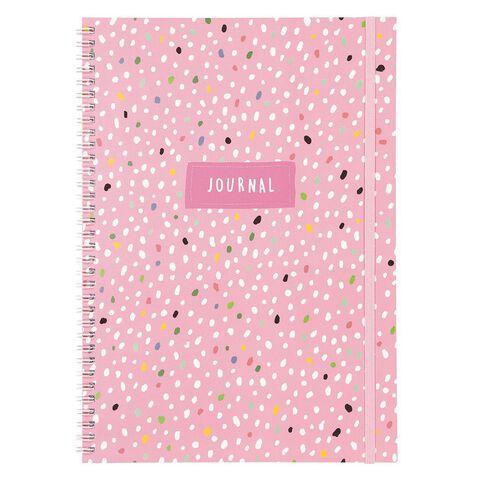 Uniti Llama Spiral Notebook A4