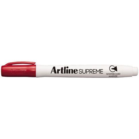 Artline Supreme Whiteboard Marker Red