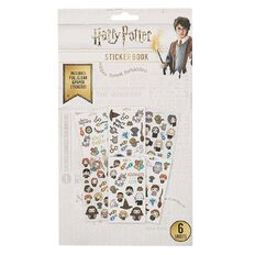 Harry Potter Sticker Book 6 Sheets