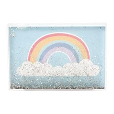 Kookie Rainbow Glitter Photo Frame