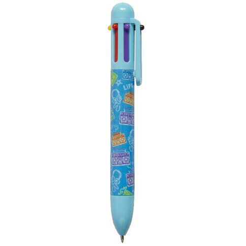 Kookie Me Multi-Colour Pen Blue