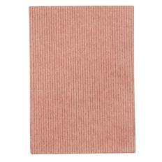 Uniti Blossom Corduroy Hardcover Notebook Salmon A5