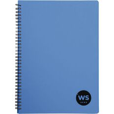 WS Notebook PP Wiro Blue A4 Blue A4
